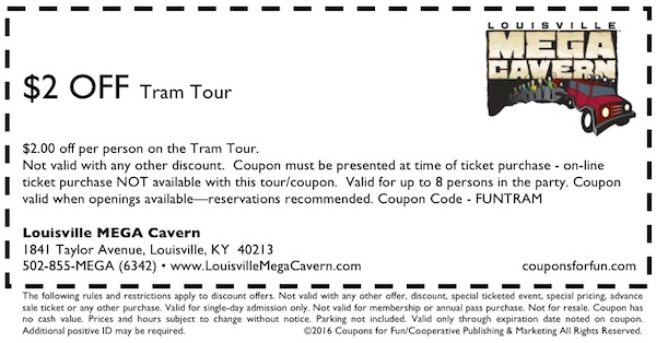 cave, cavern, tram, tour, mine, geology, family, fun, kids, children, coupon, coupons, discount