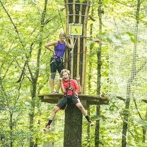Savings coupon for Go Ape Treetop Adventure in Derwood, Marylandy