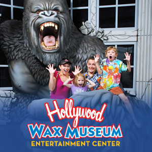 Get savings coupon for the Hollywood Wax Museum in Branson, Missouri