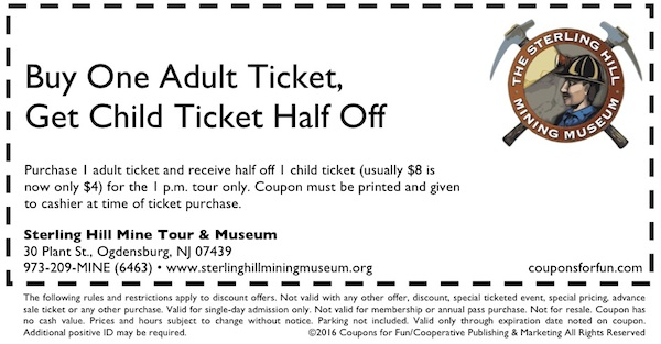 Ogdensburg, New Jersey, museum, mine, science museum, minerals, family, fun, travel, kids, children, coupon, coupons, discount