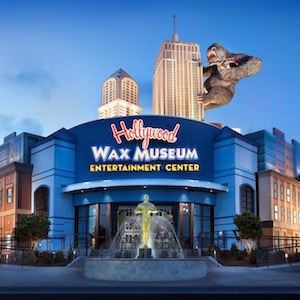 Get savings coupon for the Hollyood Wax Museum in Myrtle Beach, South Carolina