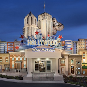 Get coupon for the Hollywood Wax Museum in Pigeon Forge, Tennessee