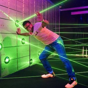 Savings coupon for Ripley's Vault Laser Maze Challenge in Ocean City, New Jersey -  family fun