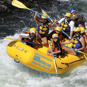 Savings coupon for whitewater rafting on the American River from American River Recreation in Coloma, California