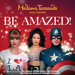 Save at Madame Tussauds Hollywood wax museum, near Los Angeles, California