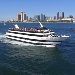 Savings coupon for Flagship Cruises and Events sightseeing tours in San Diego, California