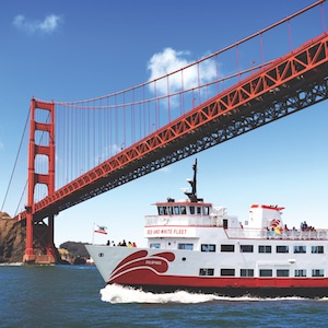 Savings coupon for the Red and White Fleet in San Francisco, California - sightseeing, cruise, Fisherman's Wharf, travel, things to do