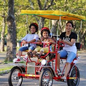 Savings coupon for Wheel Run Rentals at Flushing Meadows Corona Park, David Dinkins in Queens
