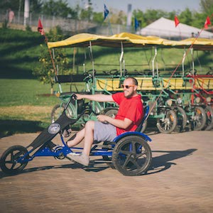 Savings coupon for Wheel Fun Rentals in Flushing Meadows Corona Park, North Meadow Lake, Queens - things to do in New York