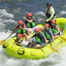 Savings coupon for California Whitewater Rafting in Lotus, Auburn and Truckee - outdoor adventures, family, kids