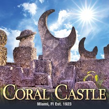 Get savings coupon for Coral Castle Museum in Homestead, Florida
