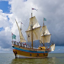 Savings coupon for Roanoke Island Festival Park in Manteo, North Carolina - historic ship, historic site, things to do in North Carolina, family fun, kids