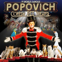 Savings coupon for Popovich Comedy Pet Theater in Las Vegas, Nevada - family, fun, pet performance