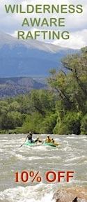 Savings coupon for Wilderness Aware Rafting in Colorado