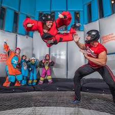 Las Vegas, Nevada, skydiving, wind tunnel, amusement, sport, things to do, family fun, kids, travel, coupon, coupons, discount